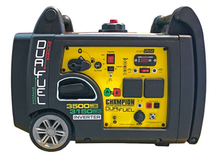 Champion 3300 Watt Inverter Dual Fuel Generator