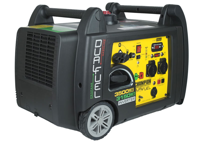 Champion 3300 Watt LPG Dual Fuel Inverter Generator