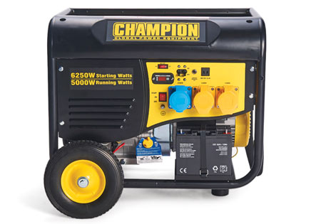 Champion 5500 Watt Petrol Generator With Remote Start